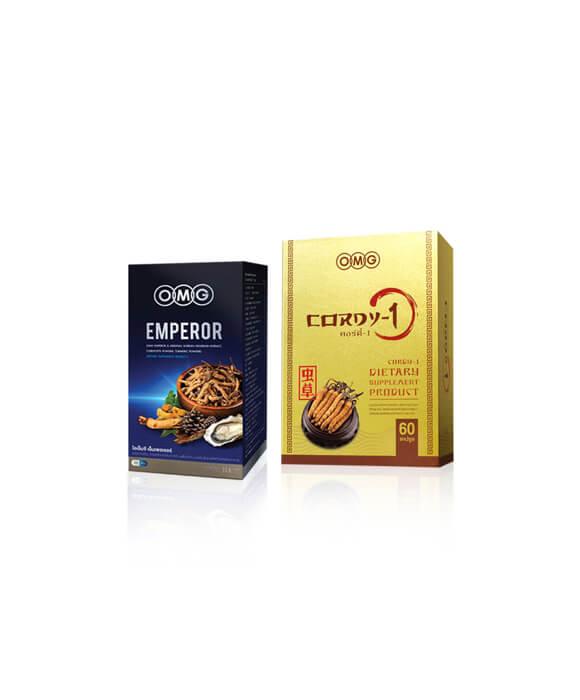 cordy 60 แคปซูล + emperor
